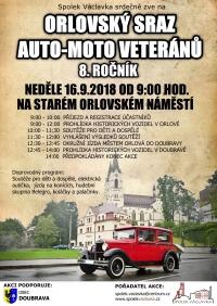 Sraz auto-moto veteránů v Doubravě