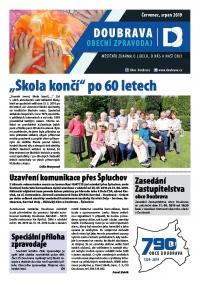 Elektronická verze obecního zpravodaje 7,8/2019